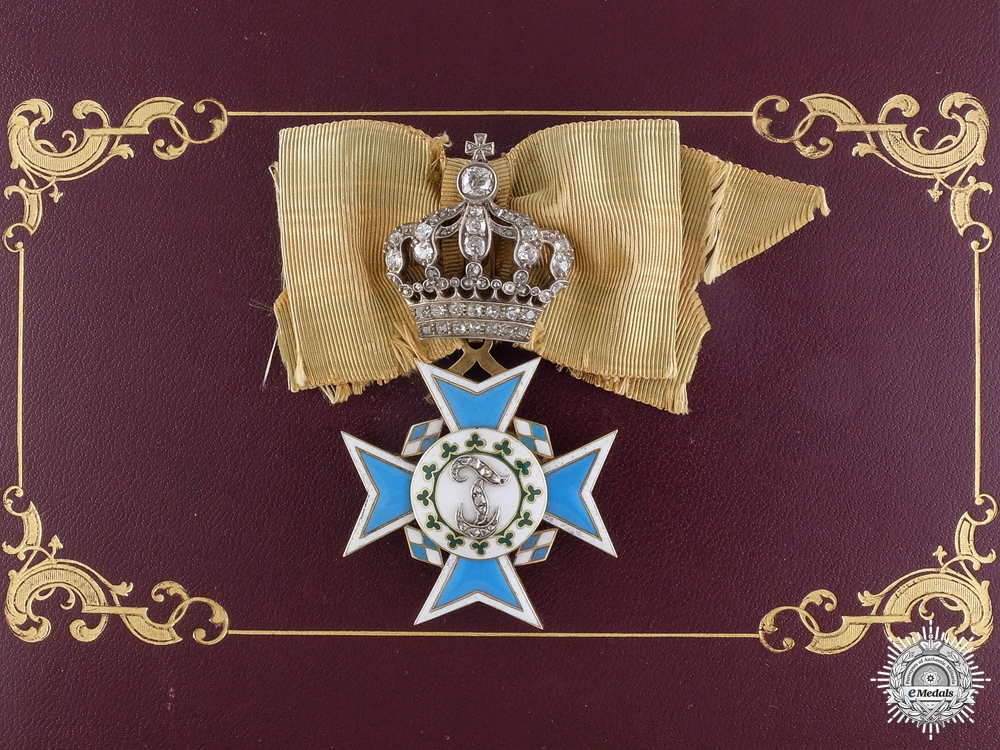 eMedals-A Rare Bavarian Order of Theresa; Awarded to Reigning Queens