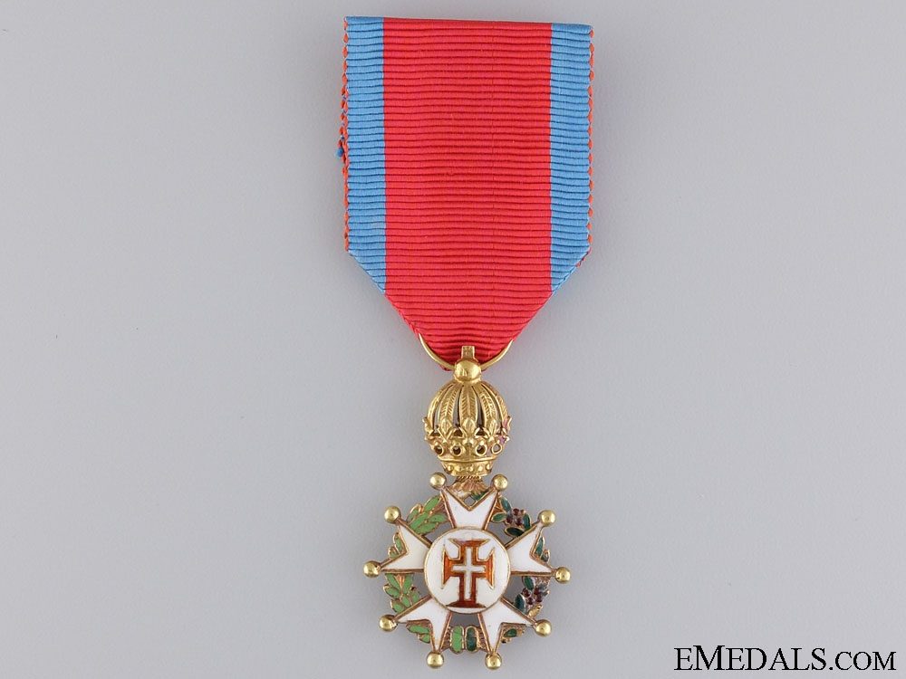 eMedals-A Rare Brazilian Order of the Christ in Gold; Knight's Breast Badge