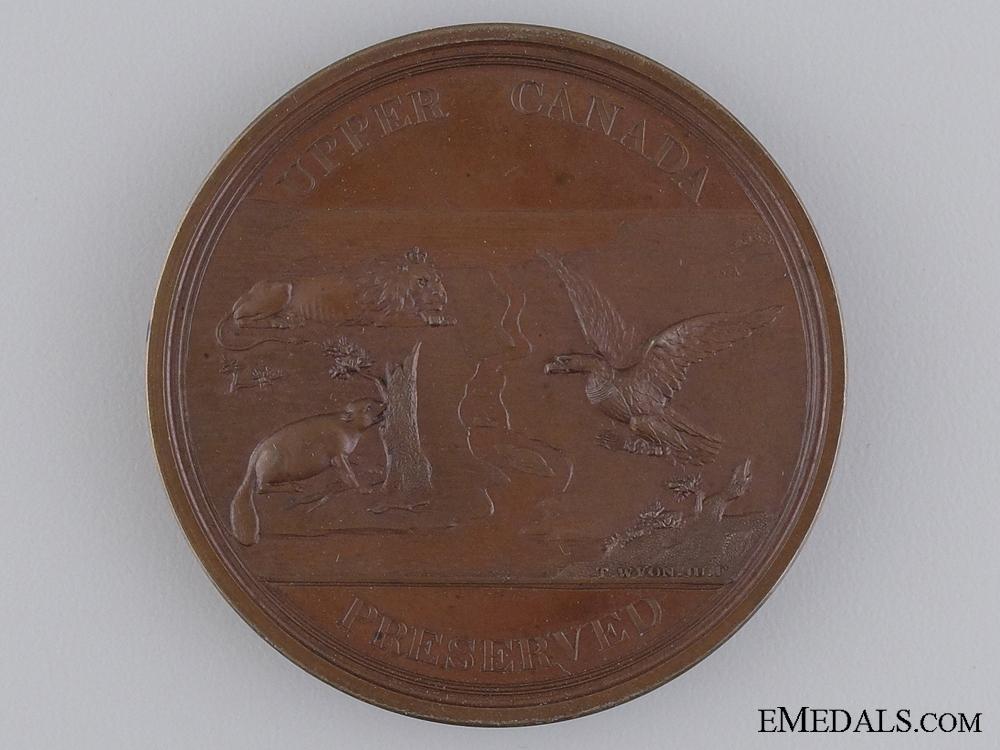 eMedals-A Rare Bronze 1812-14 Upper Canada Preserved Medal