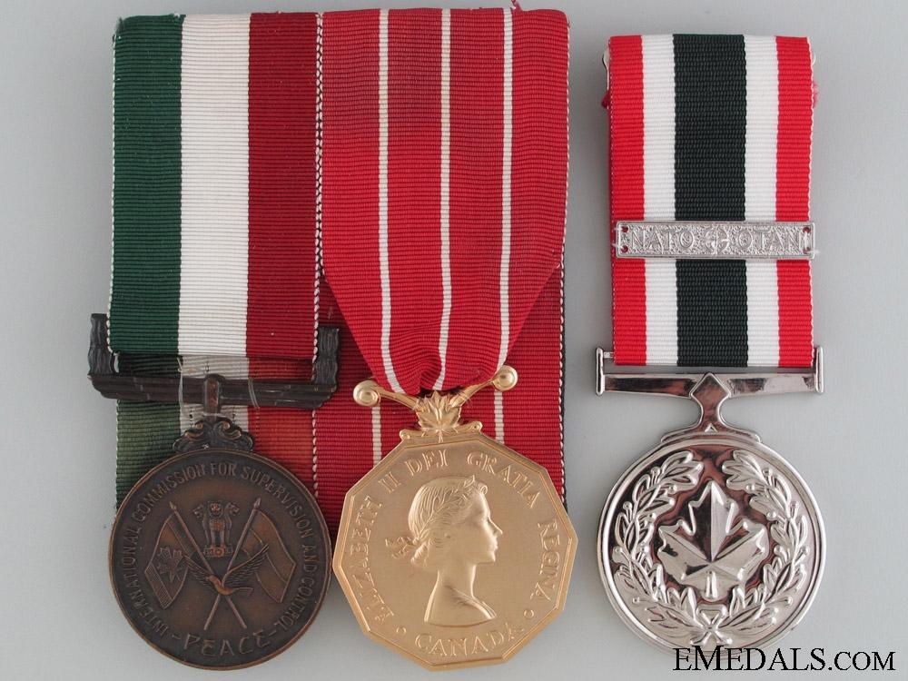 eMedals-A Rare Canadian Vietnam War ICSC Medal Group