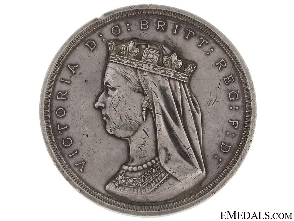 eMedals-A Rare Confederation Commemorative Table Medal 1867