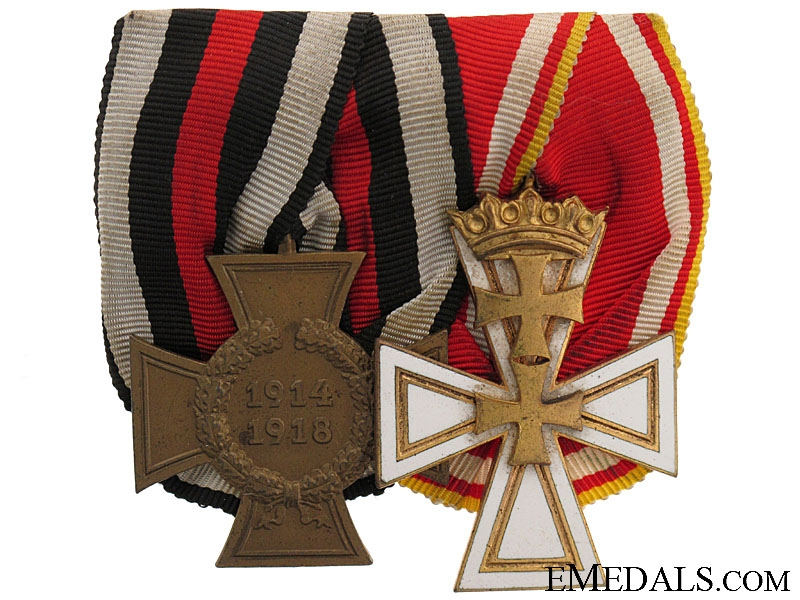 eMedals-A Rare Danzig Cross Pair