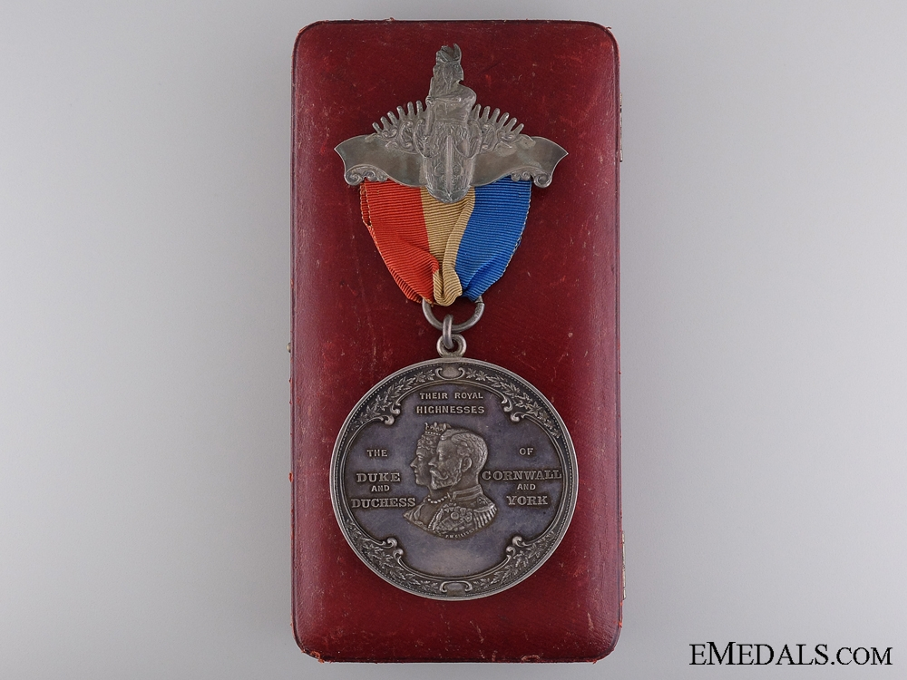 eMedals-A Rare Edward VII Indian Tribes Assembly Chiefs Medal