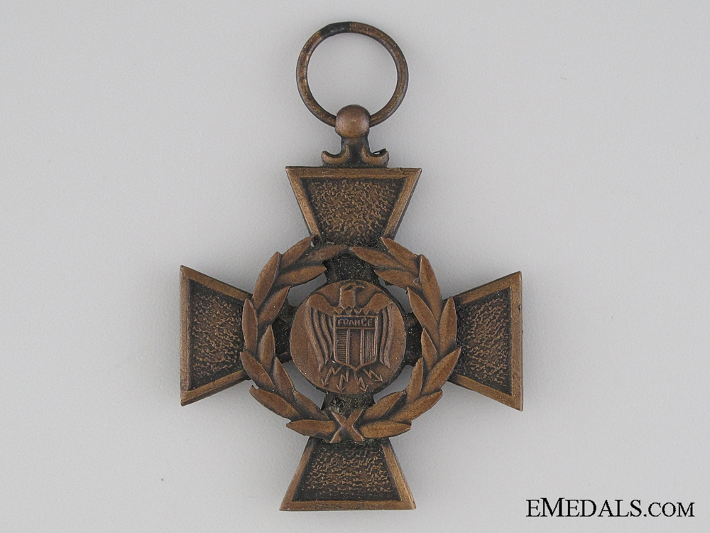 eMedals-A Rare French Volunteer Legion War Cross for Russia