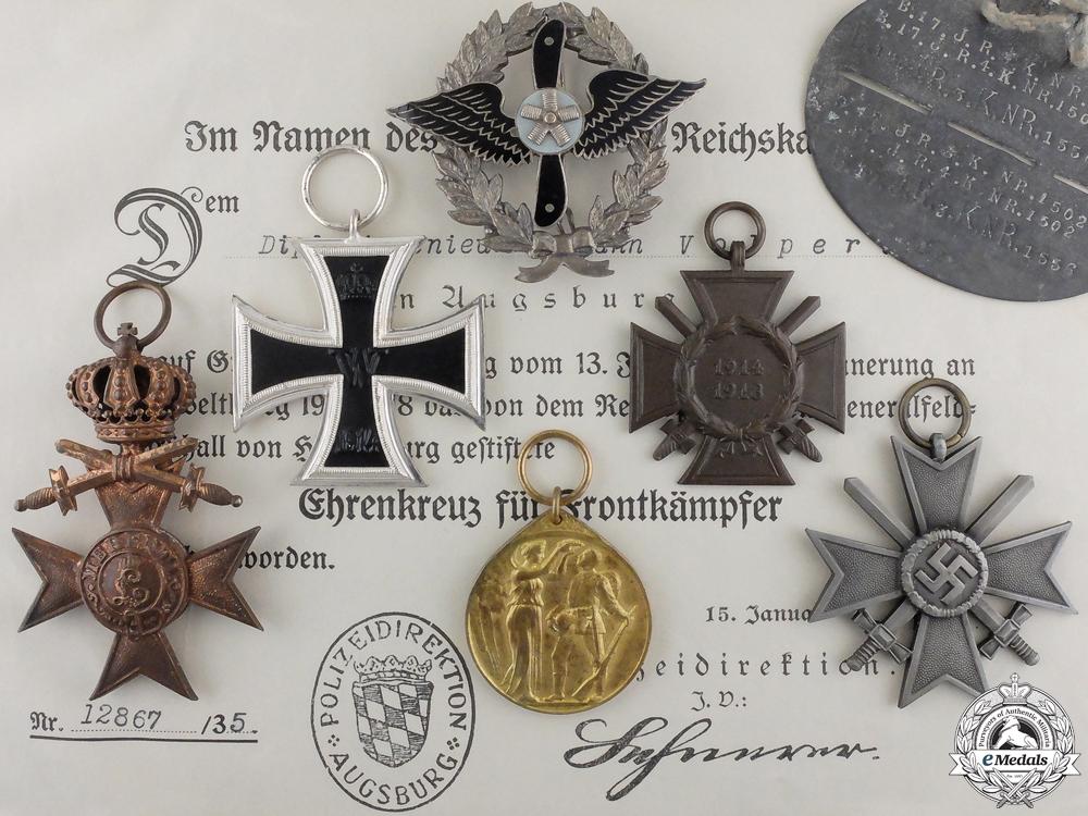 eMedals-A Rare German Aero-Modelers Association Badge & Awards