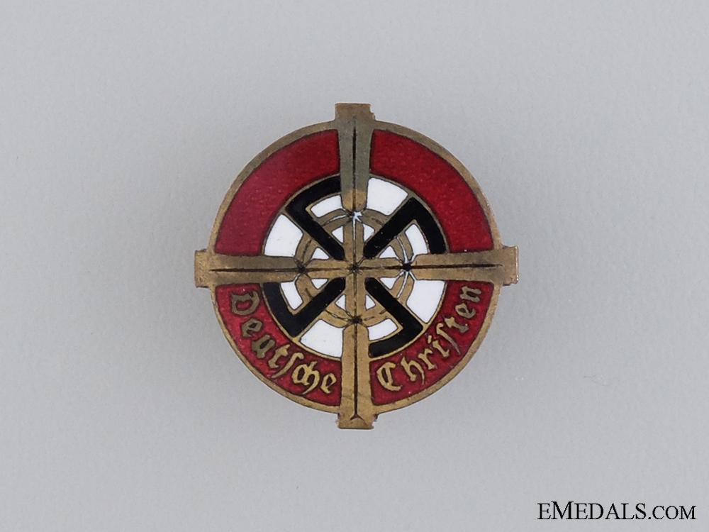 eMedals-A Rare German Christian Church Membership Badge by Willi Merten