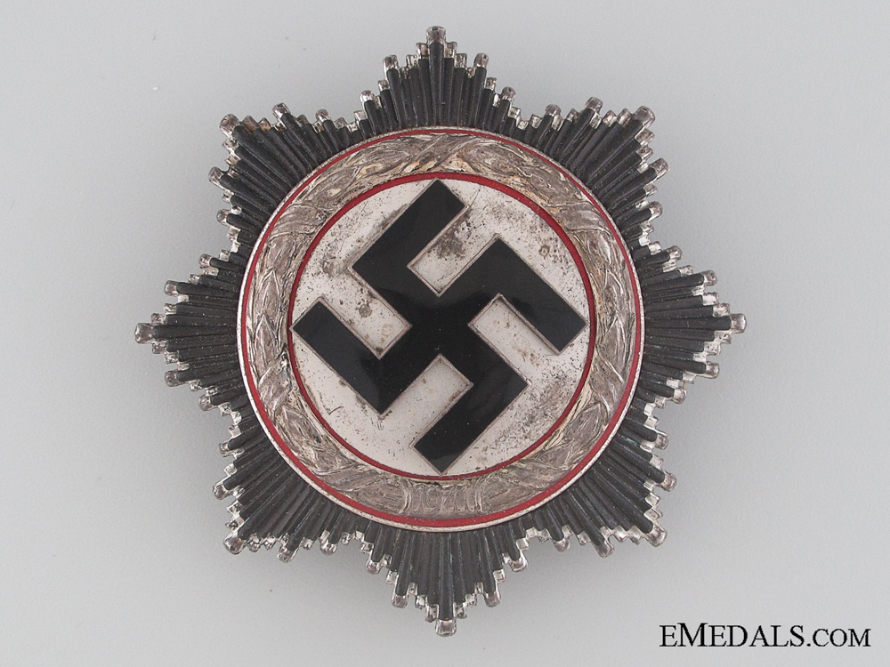 eMedals-A Rare German Cross in Silver by Zimmermann