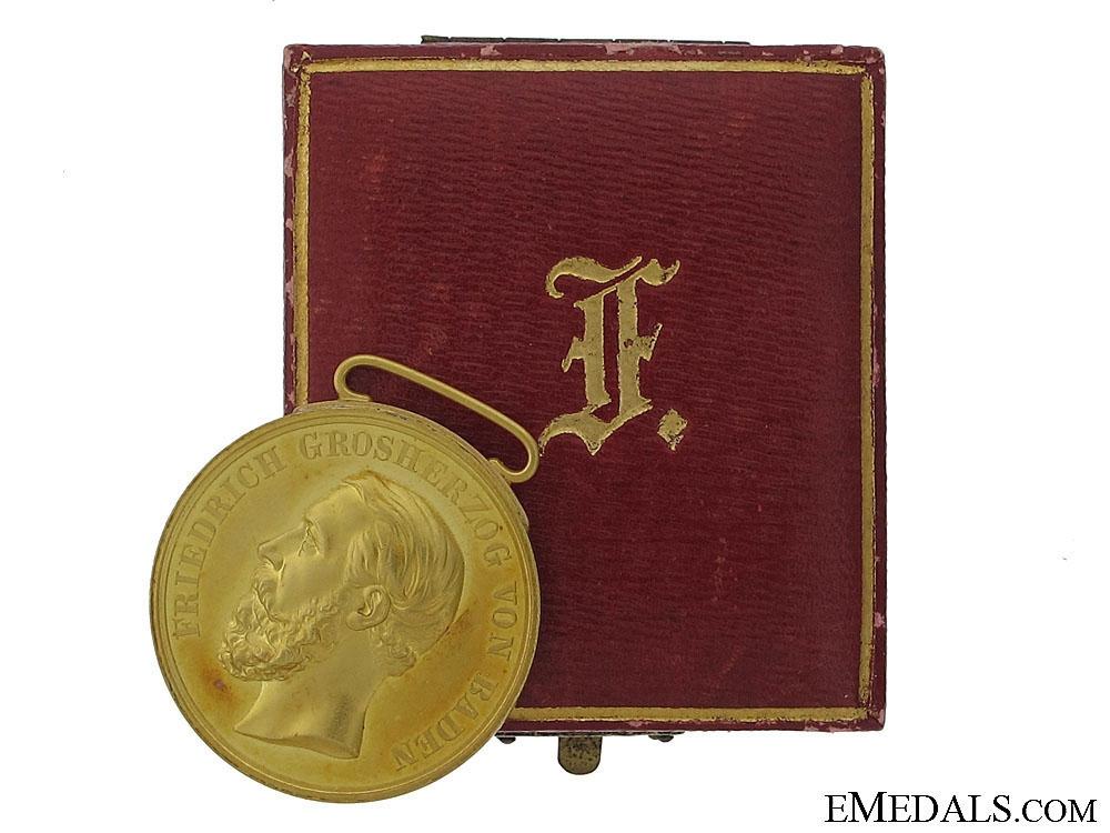 eMedals-A Rare Gold Friedrich I. Merit Medal