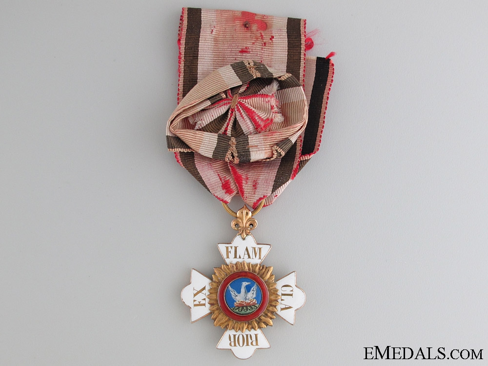 eMedals-A Rare House Order of Phoenix c.1830