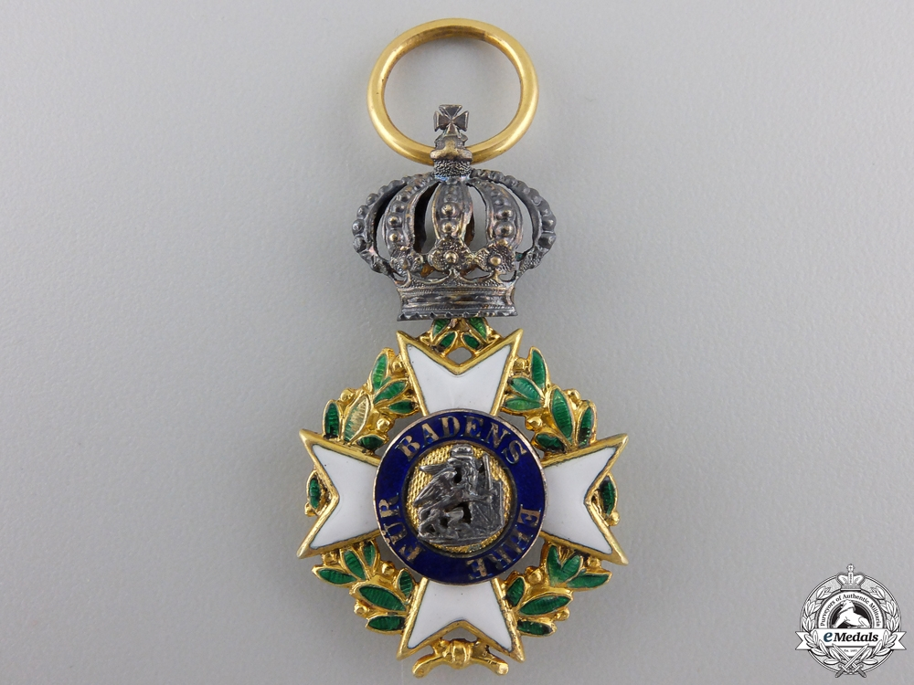 eMedals-A Rare Military Karl Friedrich Merit Order; Knight's Cross c.1850