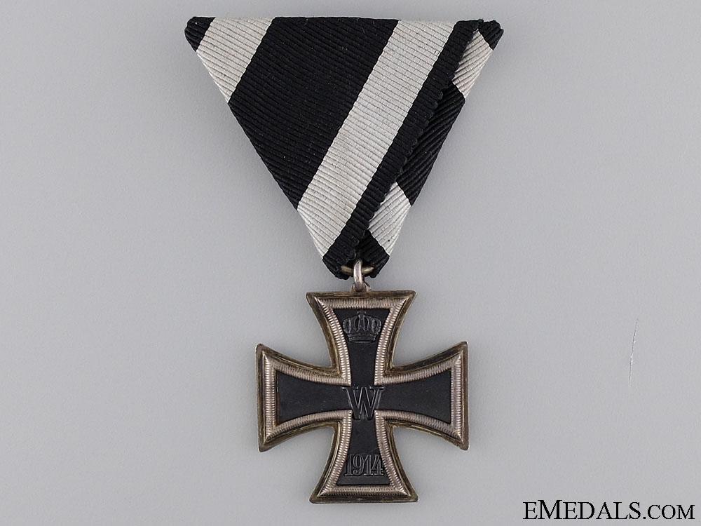 eMedals-A Rare Prizen Iron Cross Second Class 1914
