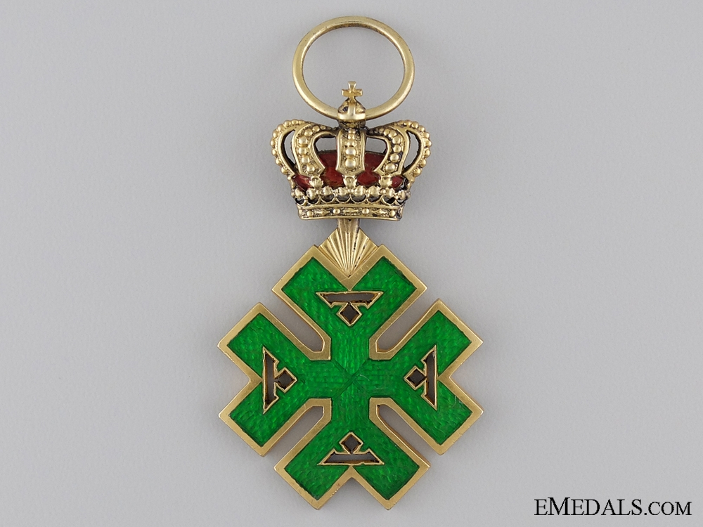 eMedals-A Rare Romanian Order of Ferdinand I; Officers Cross