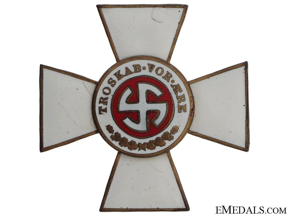 eMedals-A Rare Schalburg Officers Cross
