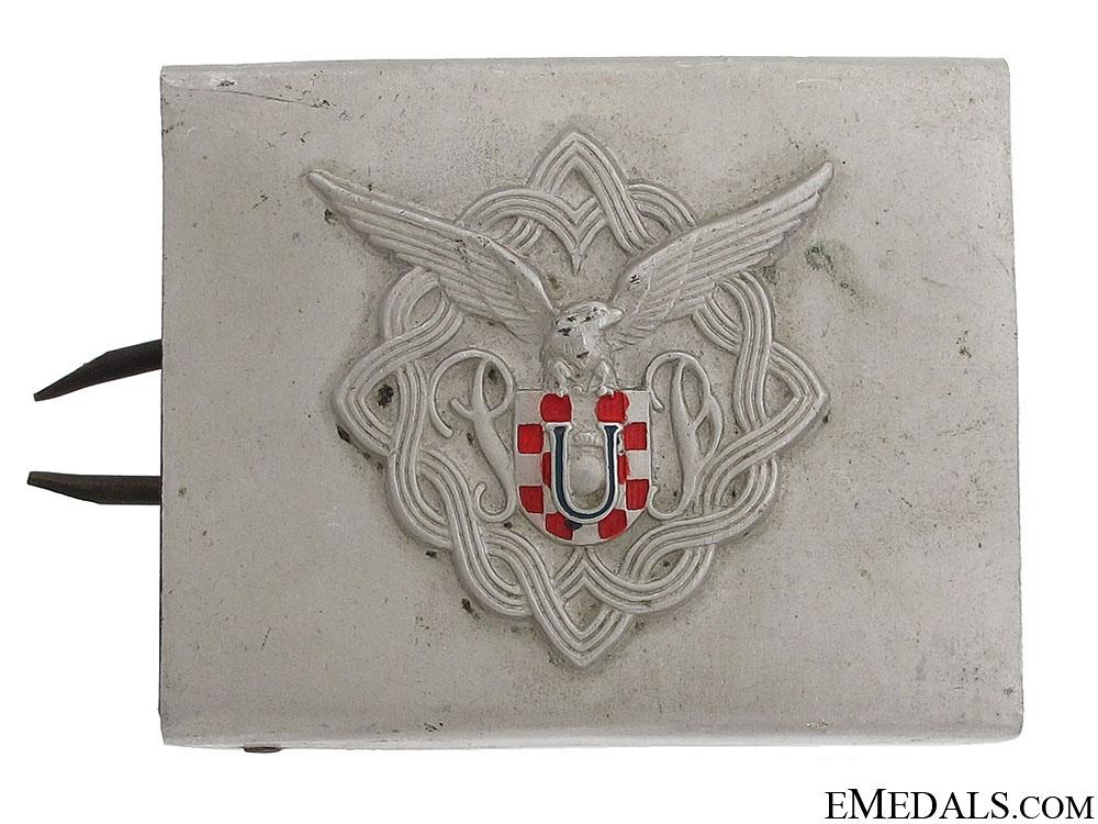 eMedals-A Rare Specimen Croatian Paratrooper Buckle