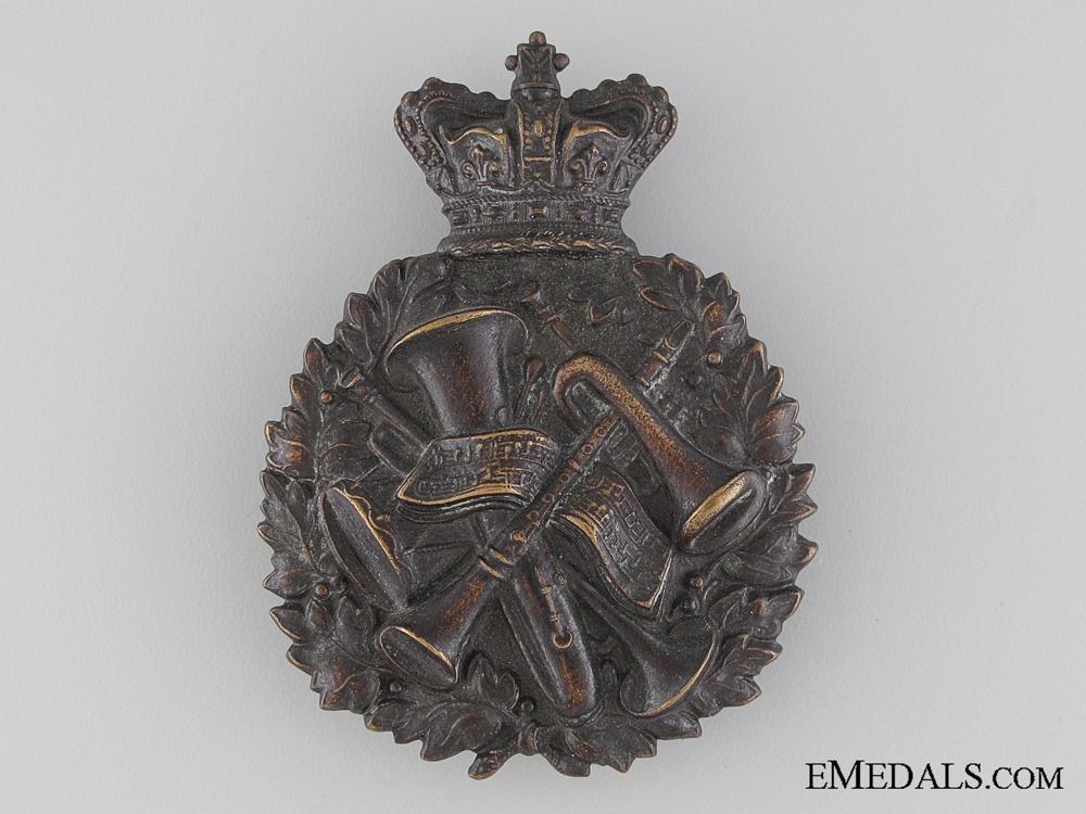 eMedals-A Rare Victorian Bandsman Cap Badge