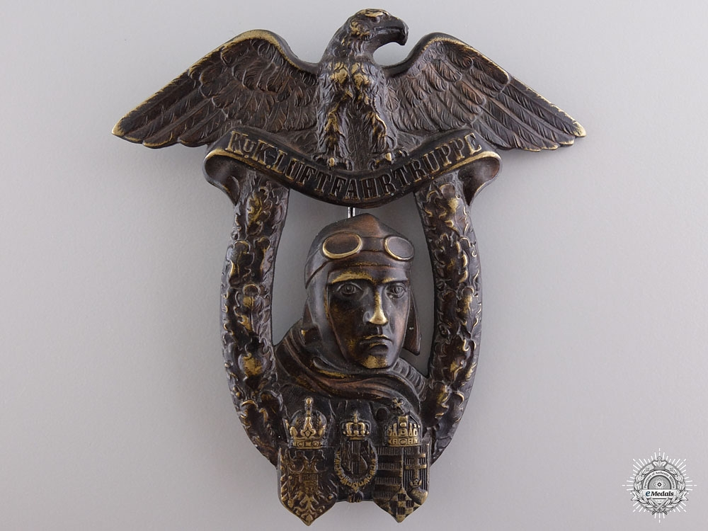 eMedals-A Rare Wiener Neustadt Flying School Graduate Badge