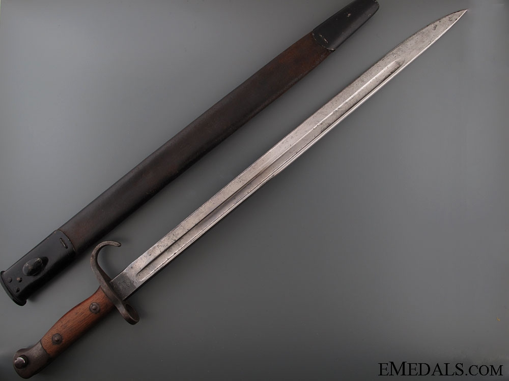 eMedals-A Rare WWI Canadian Sanderson Quillon Bayonet