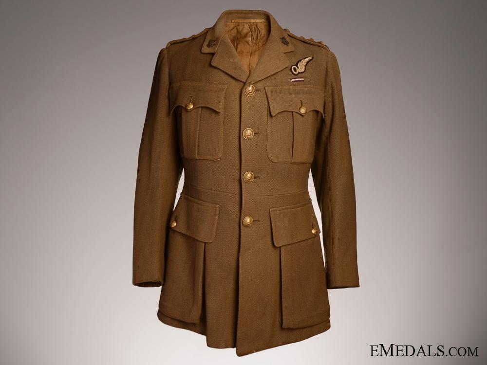 eMedals-A Rare First War Canadian DFC Recipient's Uniform