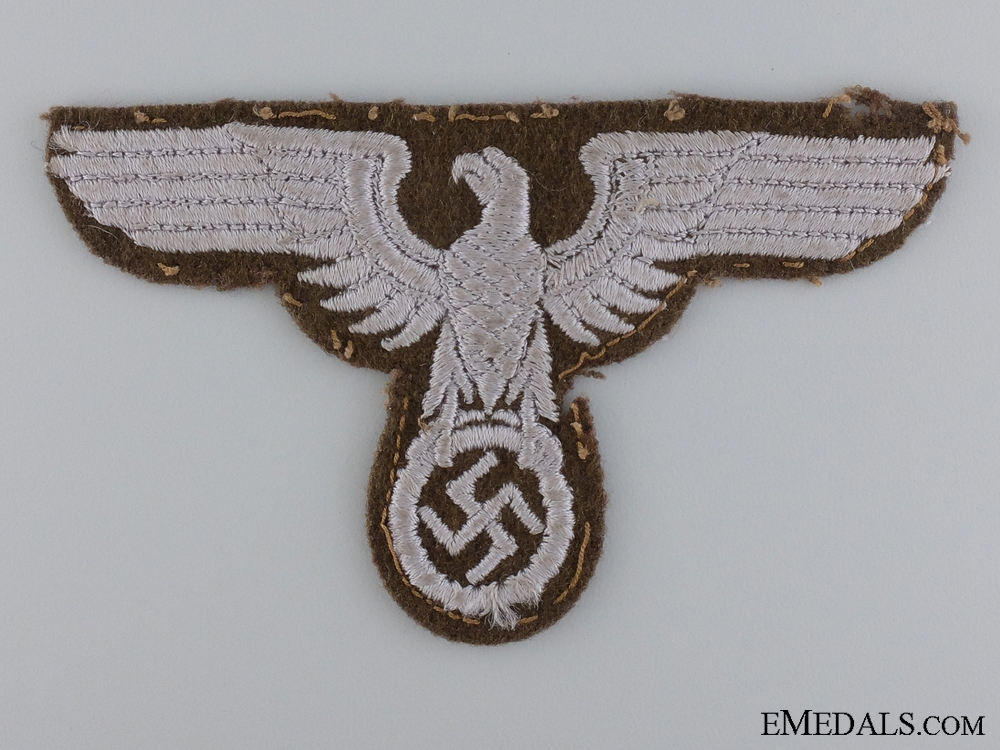 eMedals-A Reich Ministry for the Occupied Eastern Territories Sleeve Eagle