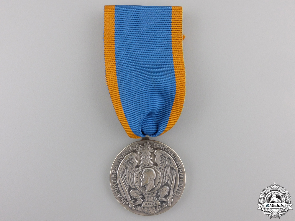 eMedals-A Romanian Medal for the War of 1913 (AKA Second Balkan War Medal 1913)
