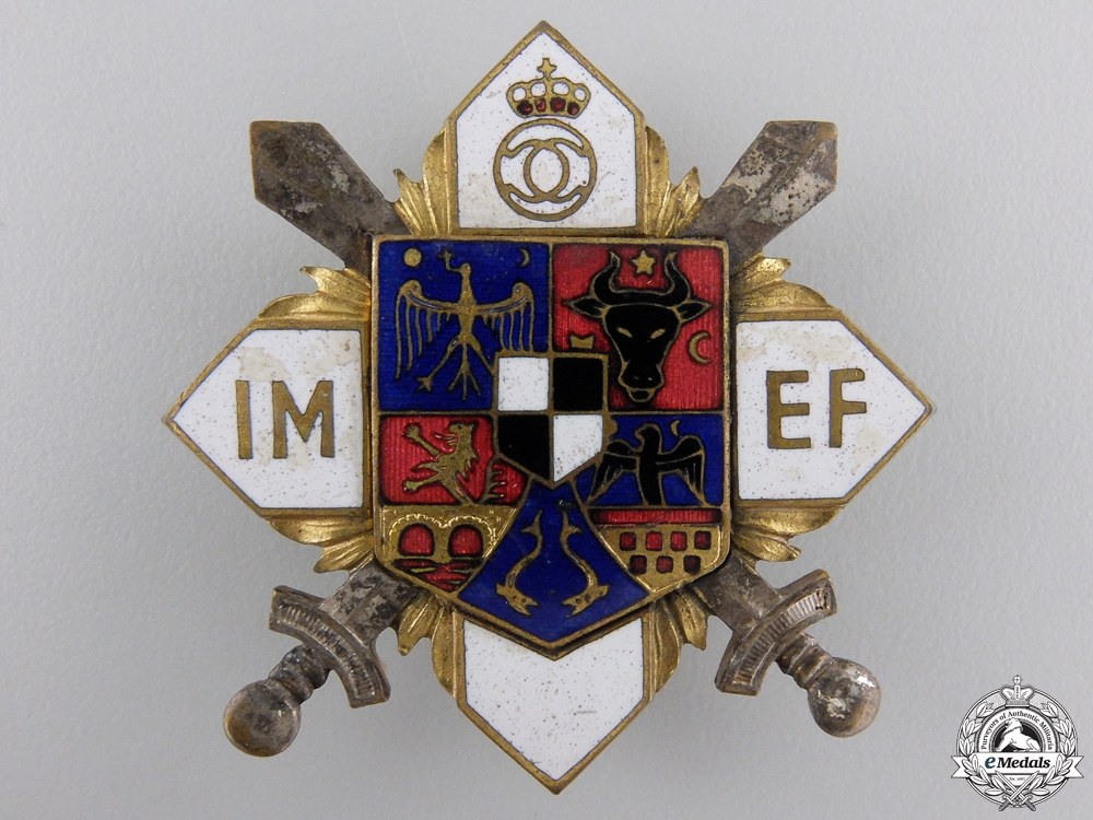 eMedals-Romania, Kingdom. A Military Officer's Sports Badge, c.1935