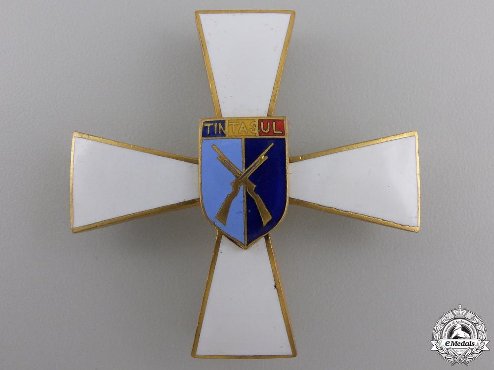 eMedals-A Romanian Officer's Tintasul Regimental Badge
