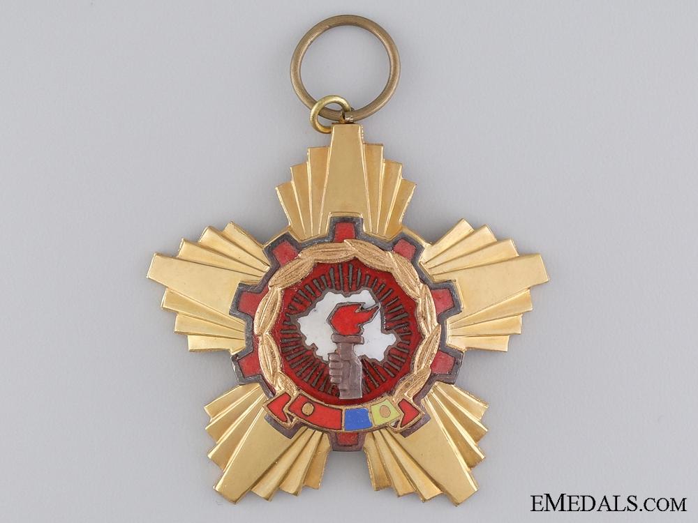 eMedals-A Romanian Order of Victory; Socialist Republic