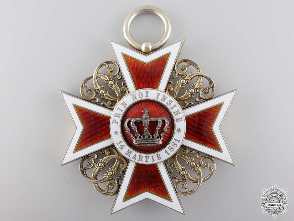 eMedals-A Romanian Order of the Crown; Grand Cross
