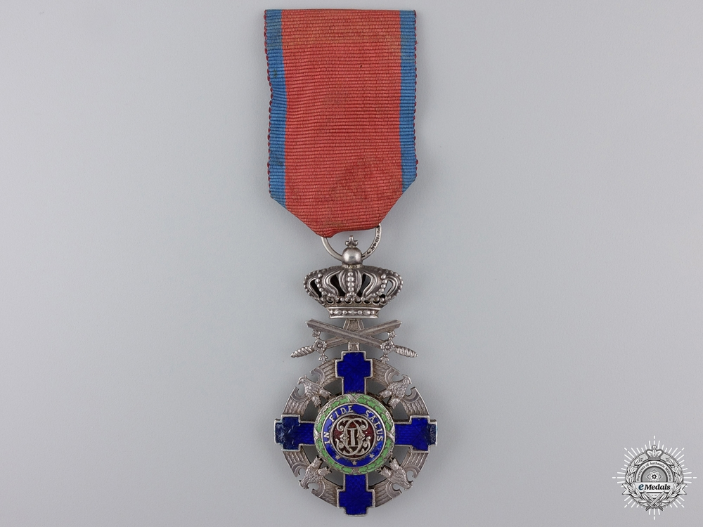eMedals-A Romanian Order of the Star; Knight's Cross with Swords