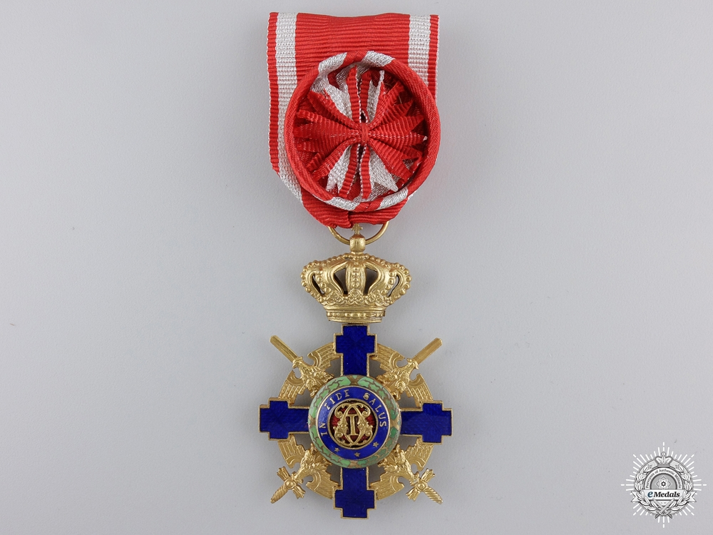 eMedals-A Romanian Order of the Star with Swords 1932-1947