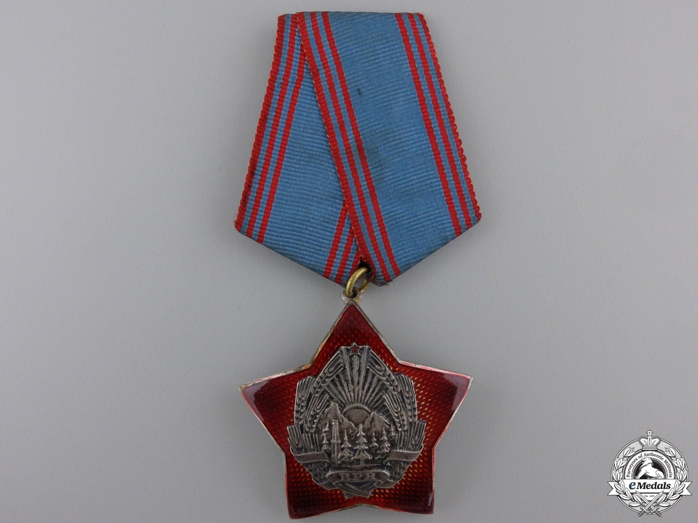 eMedals-A Romanian Order for the Defence of Social Order and Country
