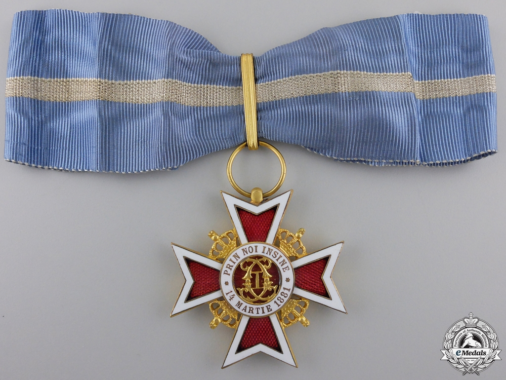 eMedals-A Romanian Order of the Crown; Commander (1932-1946)
