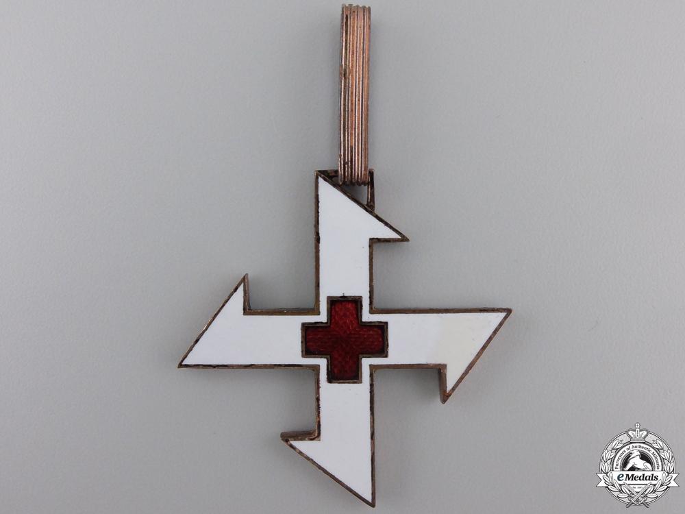 eMedals-A Romanian Queen Marie Cross; First Class