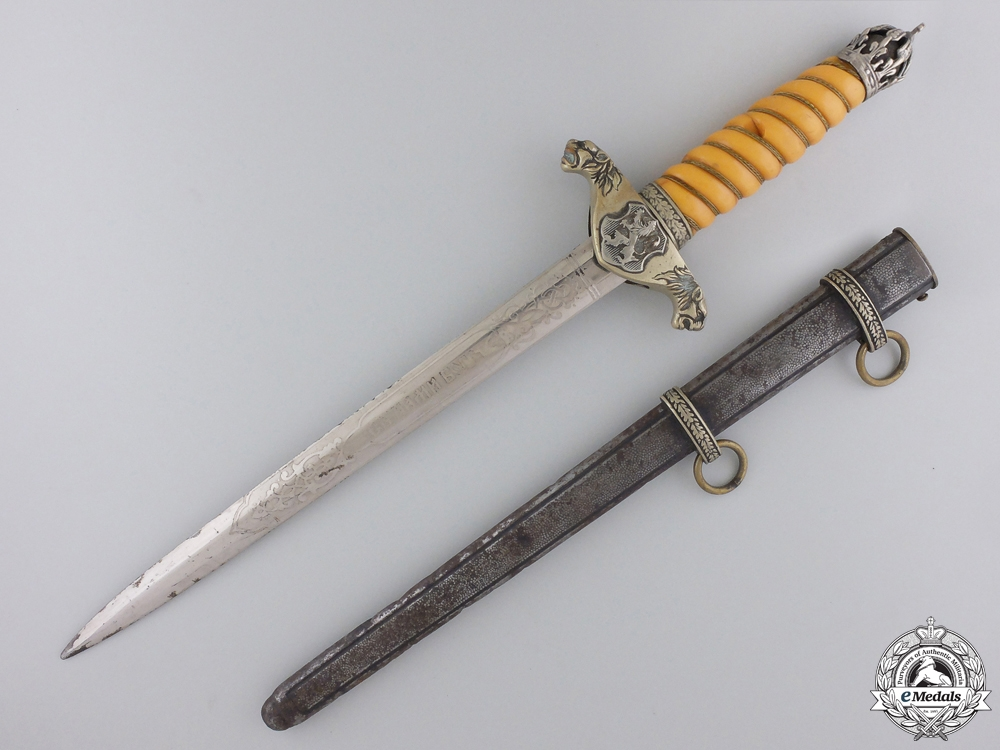 eMedals-A Royal Bulgarian Army Officer's Dress Dagger