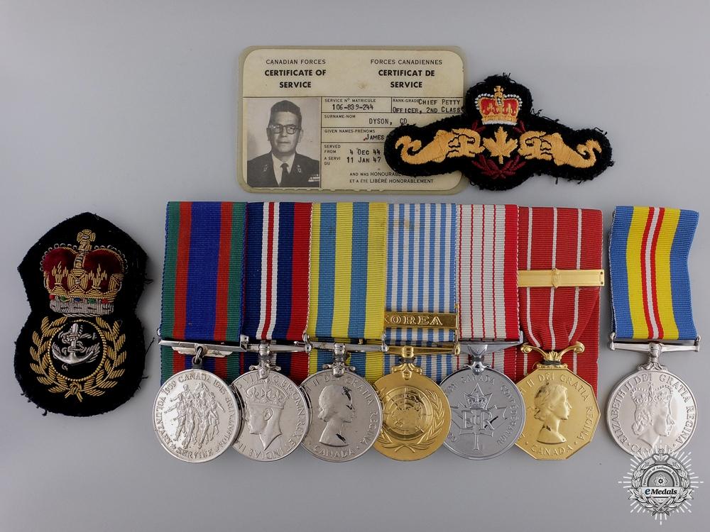eMedals-A Royal Canadian Navy Korean War Grouping