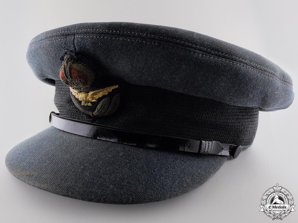 eMedals-A Royal Canadian Air Force DFC Recipient's Officer's Cap
