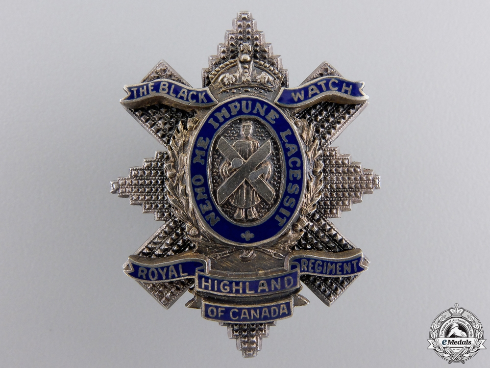 eMedals-A Royal Highland Regiment of Canada Sweetheart Pin