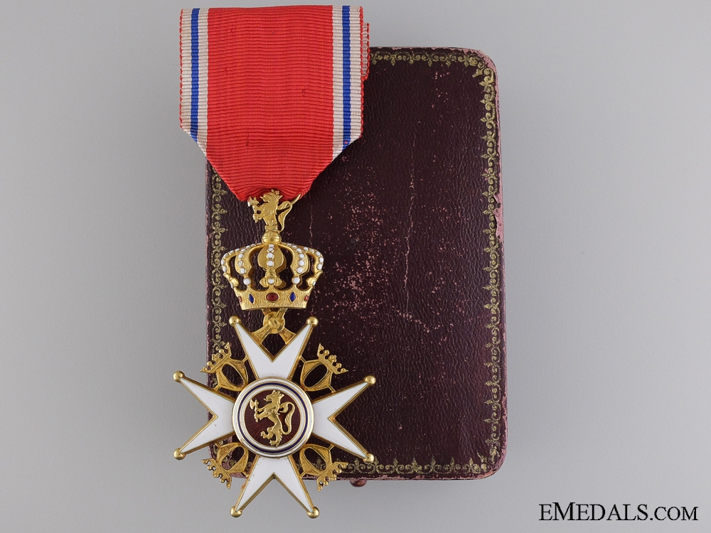 eMedals-A Royal Norwegian Order of St. Olav; Knight's Cross, First Class