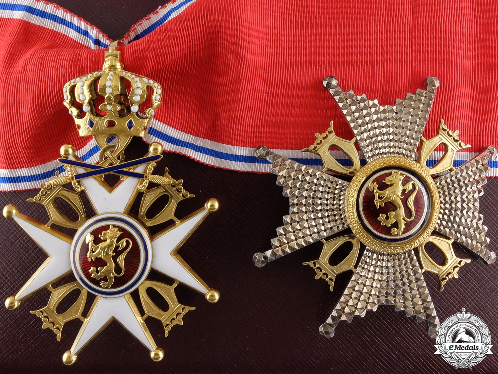 eMedals-A Royal Norwegian Order of St. Olav Type II in Gold by J.Tostrup