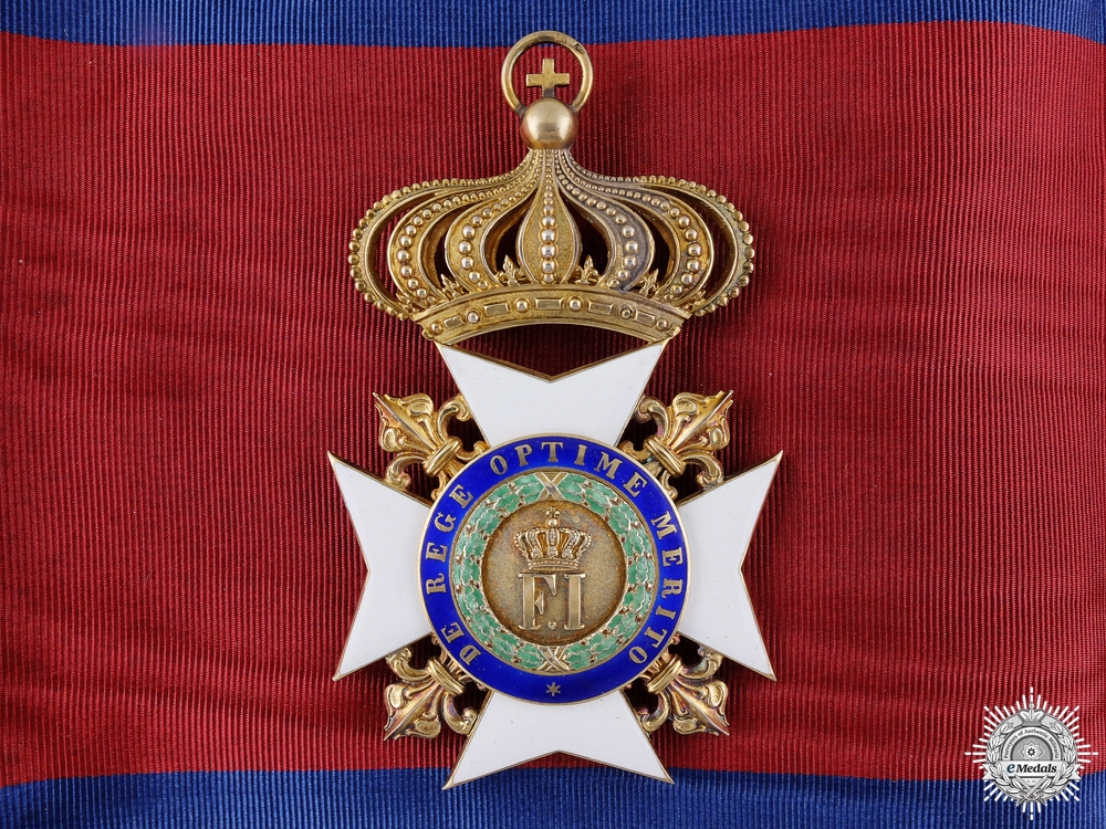 eMedals-A Royal Order of Francis I; Grand Cross by Rothe