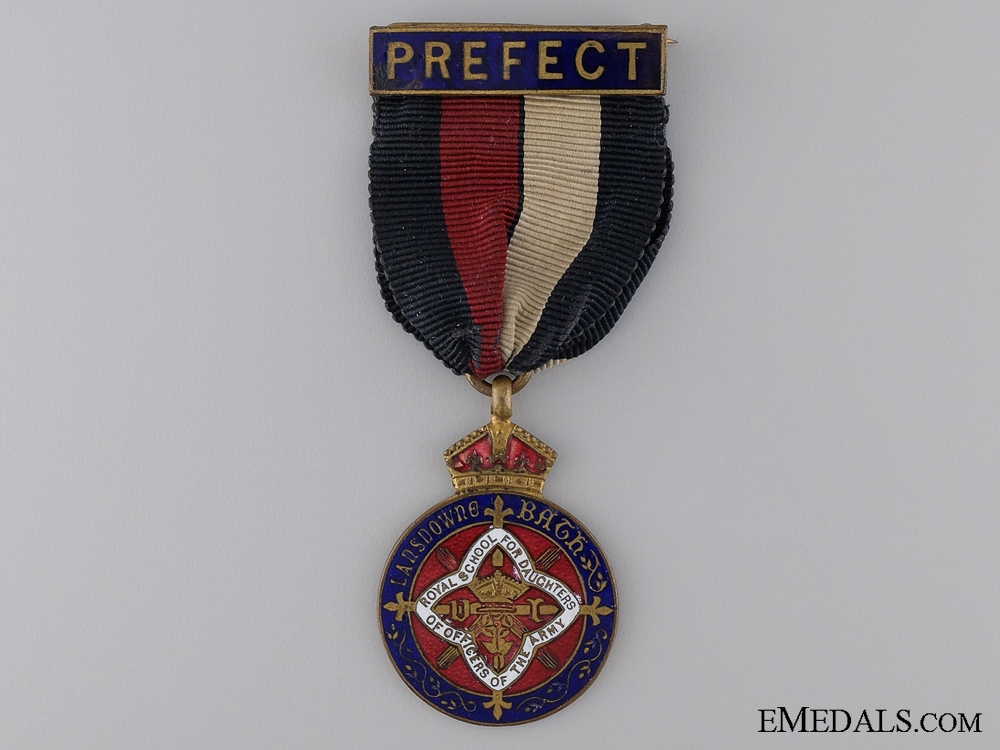 eMedals-A Royal School for Daughters of Officers of the Army Prefect's MedalConsign: 17