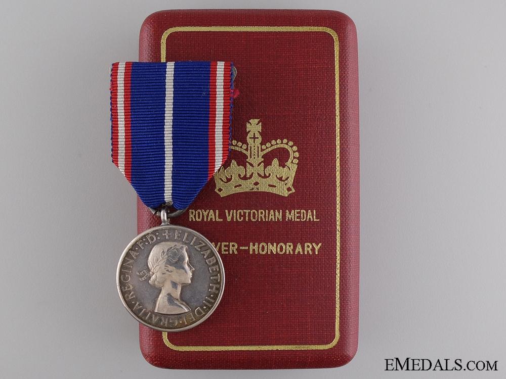 eMedals-A Royal Victorian Medal; Silver Grade