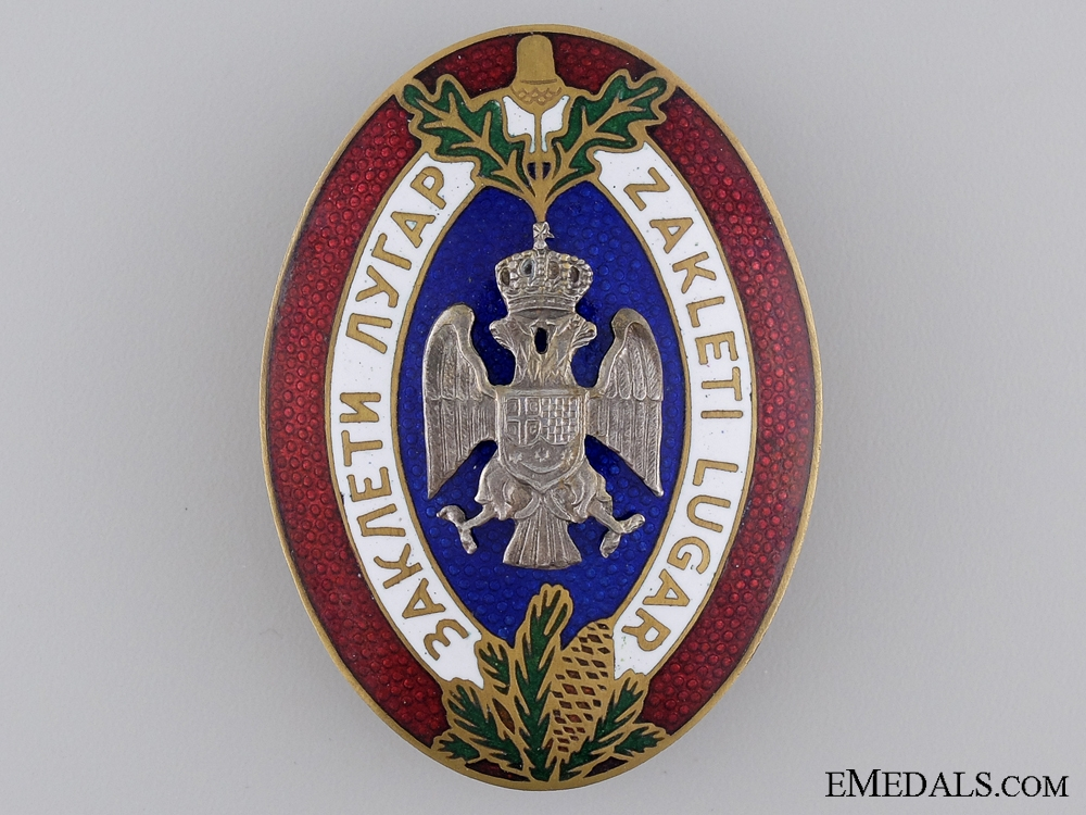 eMedals-A Royal Yugoslav Badge of the Sworn Game Warden