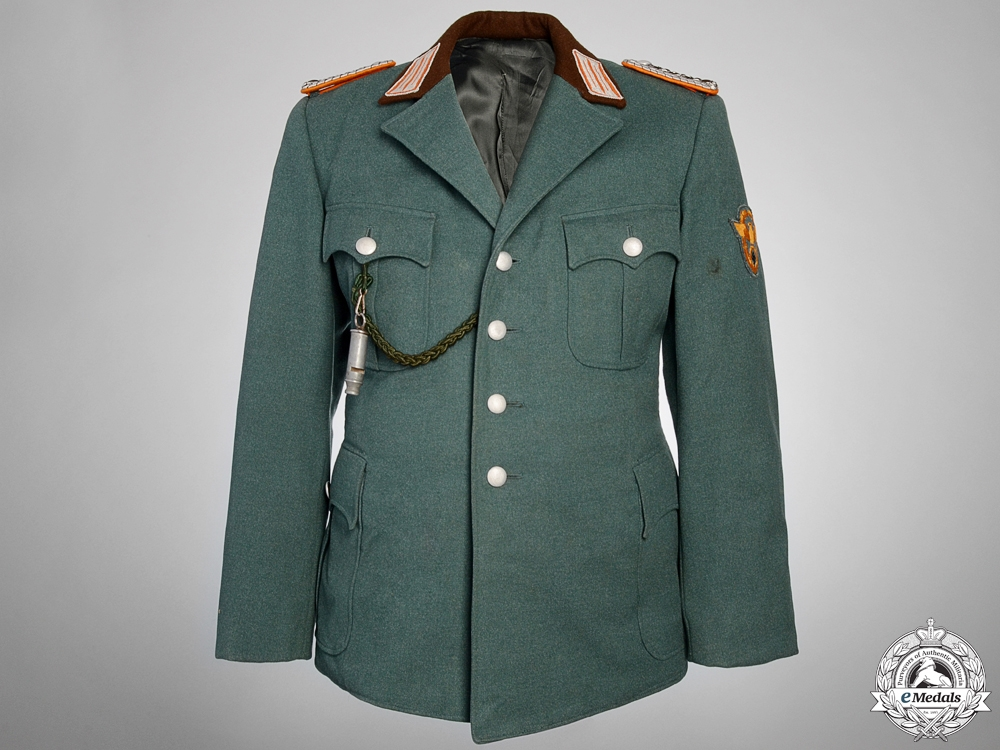 eMedals-A Rural Police Gendarmerie Senior NCO (Meister) Tunic
