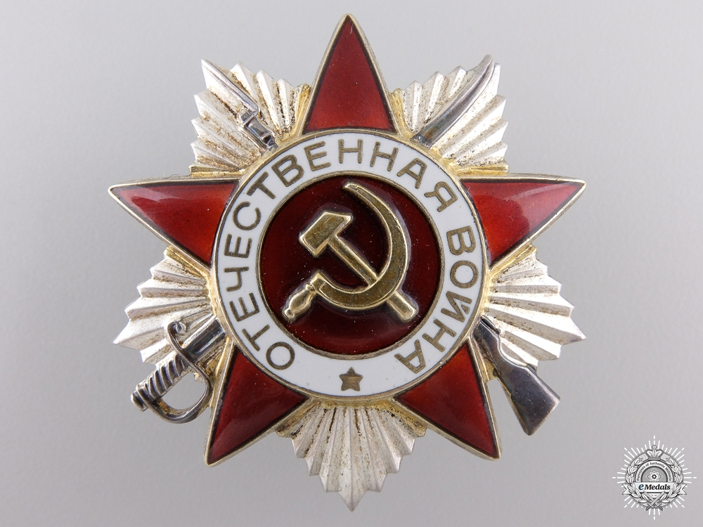eMedals-A Russian Order of the Patriotic War; 2nd Class