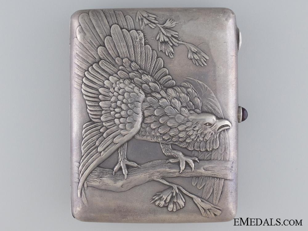 eMedals-A Russian Silver Hunters Cigarette Case