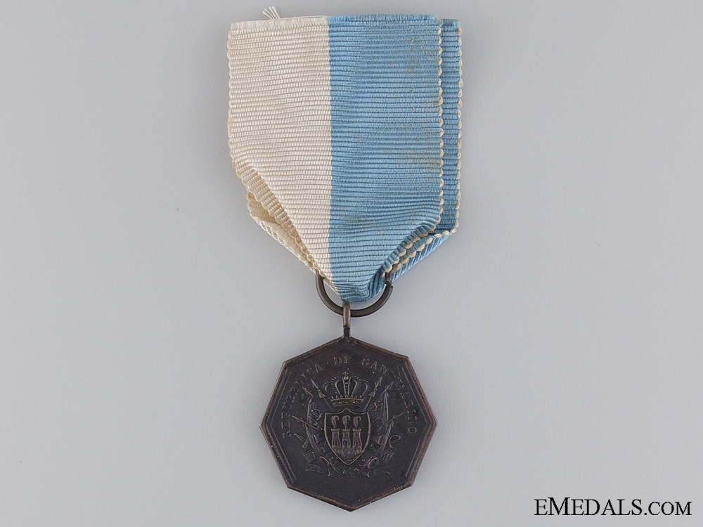 eMedals-A San Marino Long Service Medal