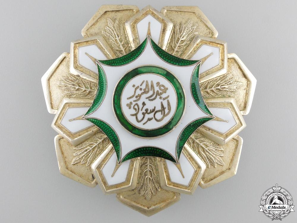 eMedals-A Saudi Arabian King Abdul Aziz Order of Merit; Breast Star