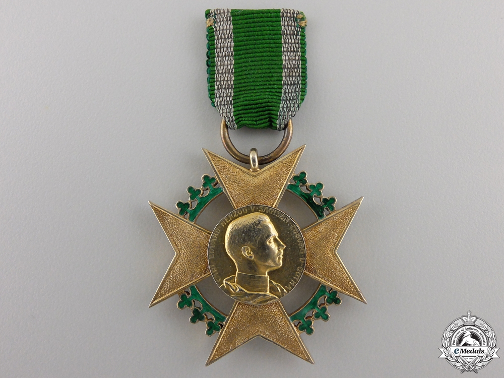eMedals-A Saxe-Coburg-Gotha, Honor Cross for Art & Science 1906-1918
