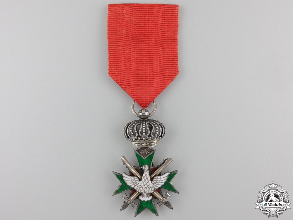 eMedals-A Saxe-Meingen Order of the White Falcon with Swords